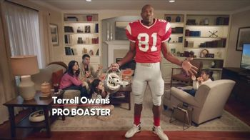 Pizza Hut Super Bowl 2018 TV Spot, 'Free Pizza Faster' Feat. Terrell Owens - 5 commercial airings