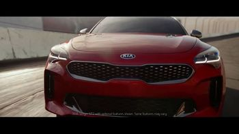 2018 Kia Stinger TV Spot, 'What Every Racer Needs' Feat. Emerson Fittipaldi - Thumbnail 1