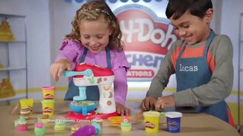 Play-Doh Kitchen Creations Spinning Treats Mixer TV Spot, 'Silly Sweets'