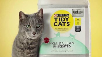 Tidy Cats Free & Clean Unscented TV Spot, 'Have You Smelled This Litter' - Thumbnail 5