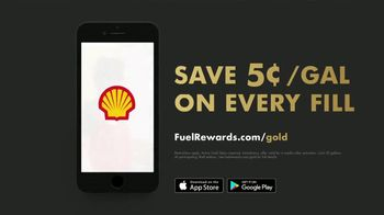Shell Fuel Rewards Program TV Spot, 'The Effect of Instant Gold Status' - Thumbnail 9