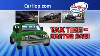 CarHop Auto Sales & Finance TV Spot, 'Tax Time'