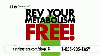 Nutrisystem Drop 18 TV Spot, 'Drop the Unhealthy Pounds' Feat. Marie Osmond - Thumbnail 6