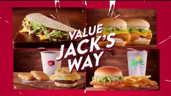 Jack in the Box Value Jack's Way TV Spot, 'Four Ways to Save' - Thumbnail 4