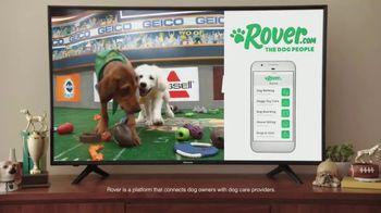 Rover.com TV Spot, 'Animal Planet: Puppy Bowl Sunday' - Thumbnail 5