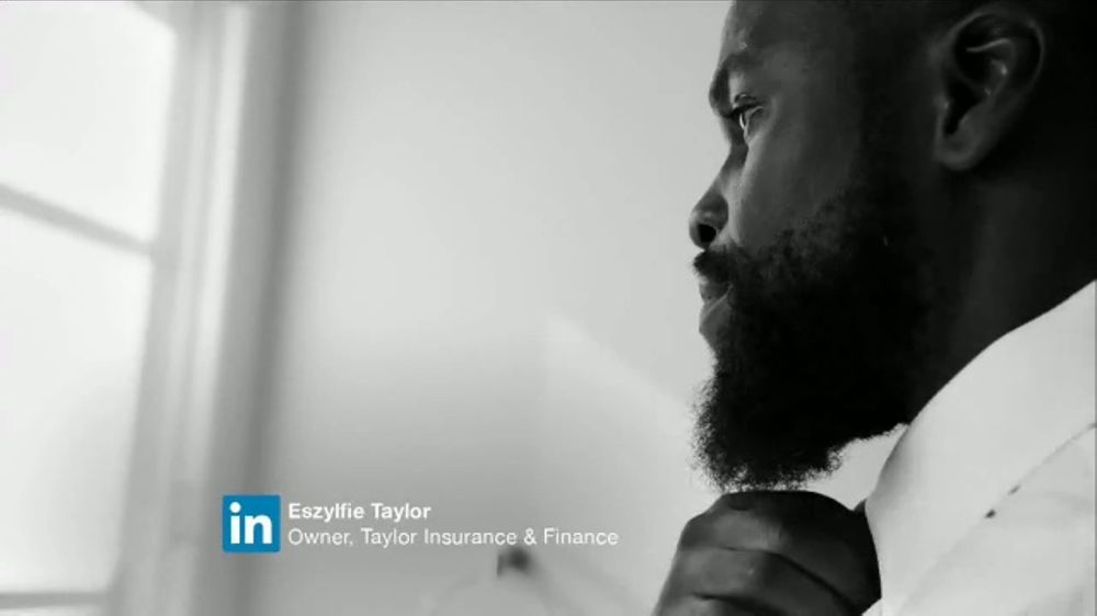 LinkedIn TV Commercial, 'Eszylfie Taylor: In It to Share the Wealth'