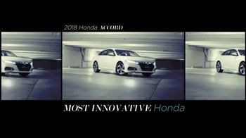 2018 Honda Accord TV Spot, 'Lead the Pack' [T1] - Thumbnail 7