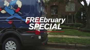 ARS Rescue Rooter FREEbruary Special TV Spot, 'Free Furnace' - Thumbnail 9