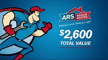 ARS Rescue Rooter FREEbruary Special TV Spot, 'Free Furnace' - Thumbnail 8