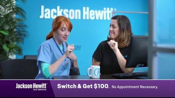 Jackson Hewitt TV Spot, 'Nurse: Switch'