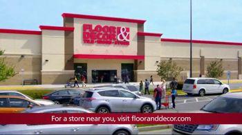Floor & Decor TV Spot, 'Experts' - Thumbnail 9