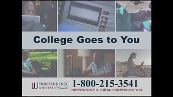 Independence University TV Spot, 'College Goes to You'