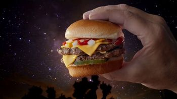 Carl\'s Jr. Charbroiled Sliders TV Spot, \'Stars\'