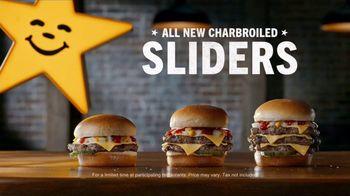 Carl's Jr. Charbroiled Sliders TV Spot, 'Stars' - Thumbnail 5