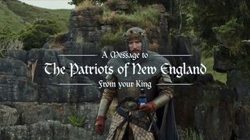 Bud Light TV Spot, 'For the Patriots of New England: A Royal Proclamation' - Thumbnail 1