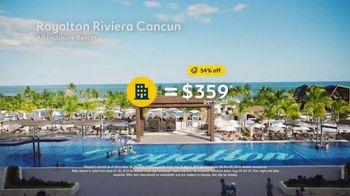 Expedia TV Spot, 'Beaches: Royalton Riviera Cancun' - Thumbnail 7