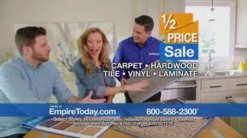 Empire Today Half Price Sale TV Spot, 'Huge Savings on Beautiful Flooring' - Thumbnail 6