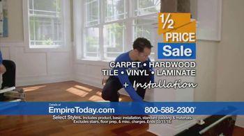 Empire Today Half Price Sale TV Spot, 'Huge Savings on Beautiful Flooring' - Thumbnail 7