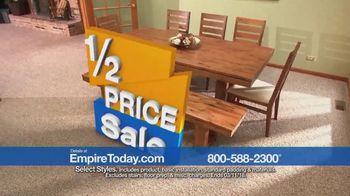 Empire Today Half Price Sale TV Spot, 'Huge Savings on Beautiful Flooring' - Thumbnail 8