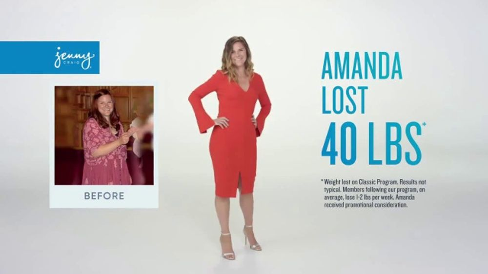 Jenny Craig Rapid Results TV Commercial, 'See Change Fast'