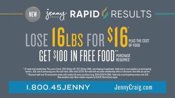 Jenny Craig Rapid Results TV Spot, 'See Change Fast' - Thumbnail 8