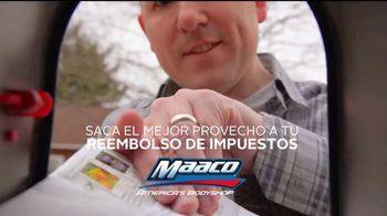 Maaco Oferta de Pintura TV Spot, 'Reembolso' [Spanish]