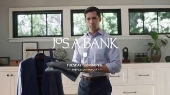 JoS. A. Bank Super Tuesday Sale TV Spot, 'Pack for Any Occasion' - Thumbnail 1