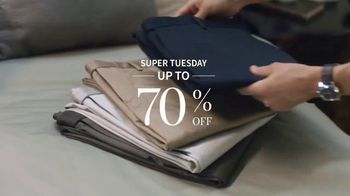 JoS. A. Bank Super Tuesday Sale TV Spot, 'Pack for Any Occasion' - Thumbnail 4