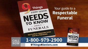 Funeral Consumer Guardian Society TV Spot, 'Nine Things for Seniors' - Thumbnail 5