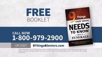 Funeral Consumer Guardian Society TV Spot, 'Nine Things for Seniors' - Thumbnail 9