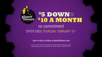 Planet Fitness TV Spot, 'Good Things Come in Fives: February' - Thumbnail 10