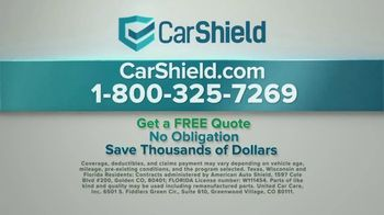 CarShield TV Spot, 'Don't Get Stuck With the Bill' - Thumbnail 8