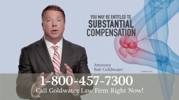 Goldwater Law Firm TV Spot, 'SYNVISC Knee Injections' - Thumbnail 3