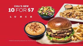 Chili's 10 for $7 Lunch TV Spot, 'Great Lunch'