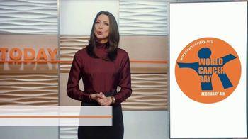 2018 World Cancer Day TV Spot, 'Super Bowl LII' Featuring Dr. Natalie Azar - Thumbnail 7
