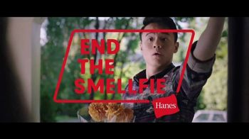 Hanes With Fresh IQ TV Spot, \'End the Smellfie\'