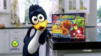 Kid Cuisine Earth's Mightiest Popcorn Chicken TV Spot, 'Avengers Assemble' - 1574 commercial airings