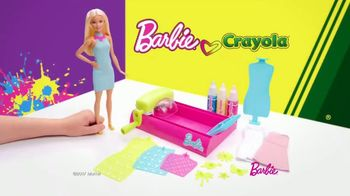 Barbie Crayola Color Magic Station TV Spot, 'Make It Just Your Style' - Thumbnail 1