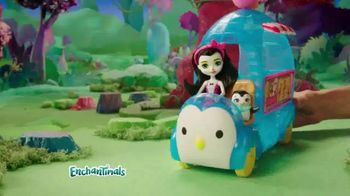 Enchantimals Wheel Frozen Treats Igloo TV Spot, 'Ice Cream Treats' - Thumbnail 3
