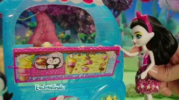 Enchantimals Wheel Frozen Treats Igloo TV Spot, 'Ice Cream Treats' - Thumbnail 4