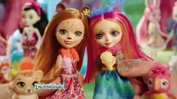 Enchantimals Wheel Frozen Treats Igloo TV Spot, 'Ice Cream Treats' - Thumbnail 7