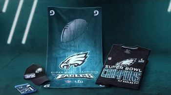 NFL Shop TV Spot, 'Celebrate with the Eagles' - 1669 commercial airings