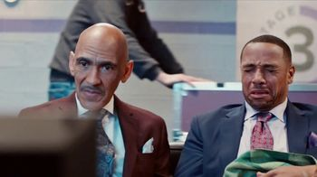 GEICO TV Spot, 'Heartbreak: NBC Breaks' Feat. Tony Dungy, Rodney Harrison - Thumbnail 2