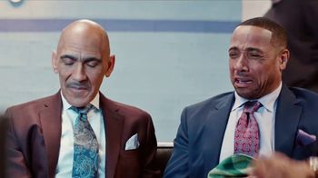 GEICO TV Spot, 'Heartbreak: NBC Breaks' Feat. Tony Dungy, Rodney Harrison - Thumbnail 4