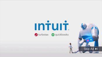 Intuit Super Bowl 2018 TV Spot, 'Giant Skip Ad'