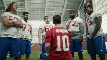 NFL Super Bowl 2018 TV Spot, 'Thumb War' Feat. Eli Manning, John Jerry - 3 commercial airings
