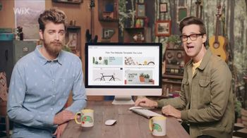 Wix Super Bowl 2018 TV Spot, 'Coolest Collaboration' Feat. Rhett and Link - 1 commercial airings