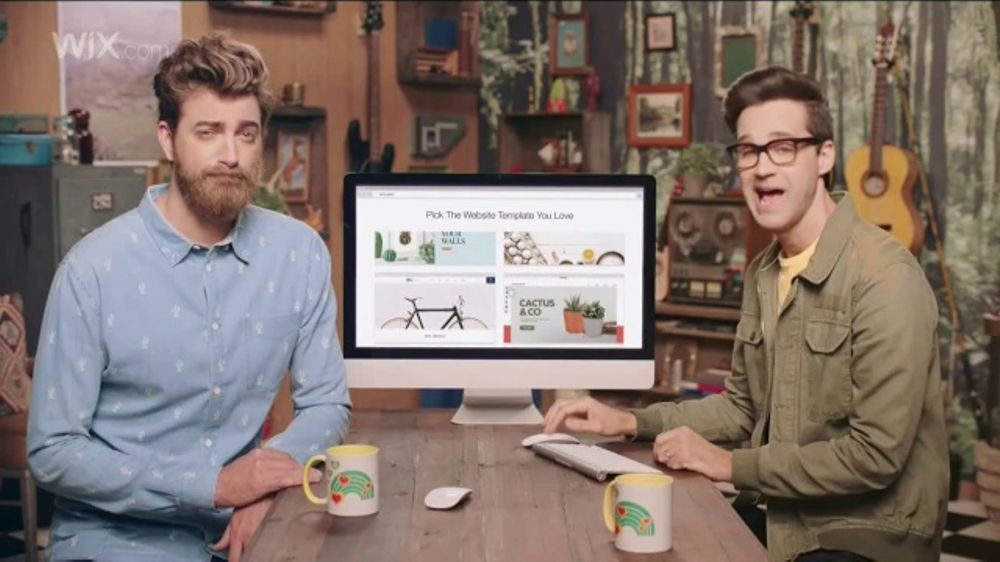 Wix Super Bowl 2018 TV Commercial, 'Coolest Collaboration' Feat. Rhett and Link