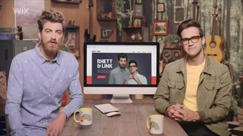 Wix Super Bowl 2018 TV Spot, 'Coolest Collaboration' Feat. Rhett and Link - Thumbnail 1