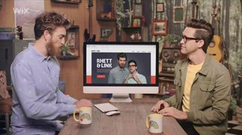 Wix Super Bowl 2018 TV Spot, 'Coolest Collaboration' Feat. Rhett and Link - Thumbnail 2